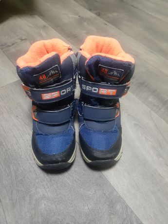 Зимние ботинки 29 размер
