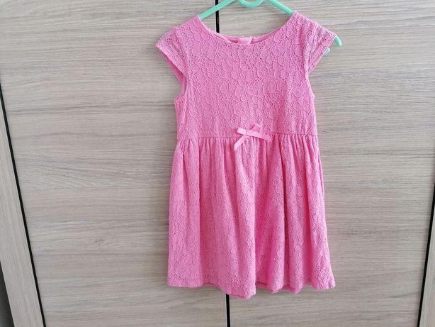 Sukienka dziewczęca roz 98/104