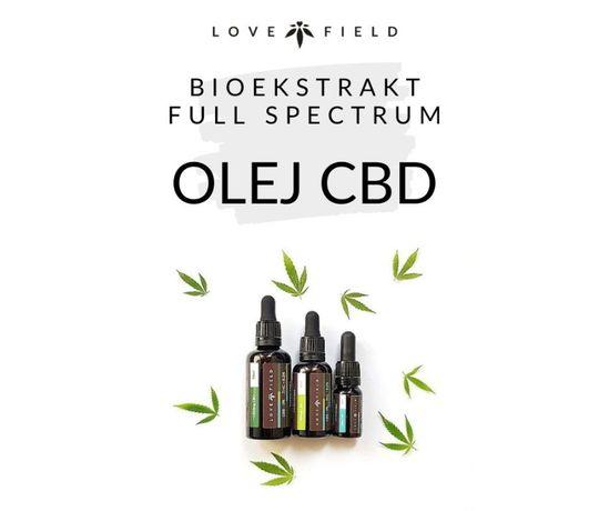 Olej CBD | BIOekstrakt full spectrum | wyjątkowy | najczystszy