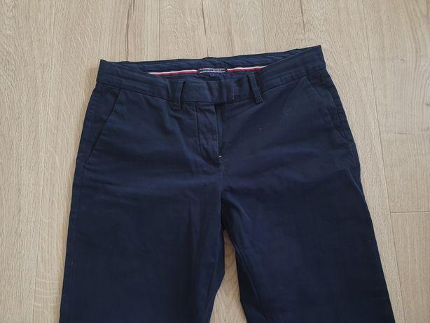 *  Tommy Hilfiger * damskie spodnie chinosy - granatowe - S/M