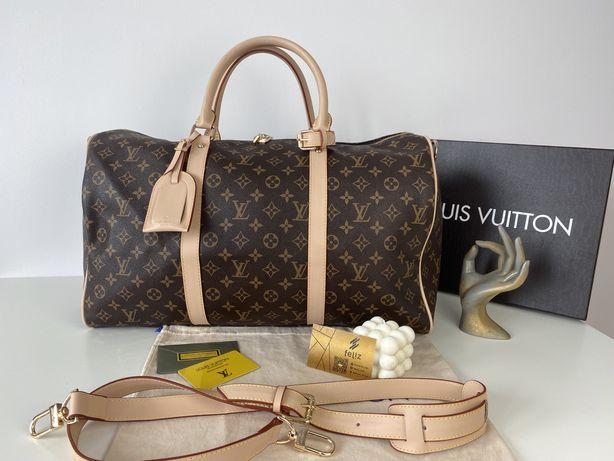 Torba podróżna Louis Vuitton premium monogram luksusowa