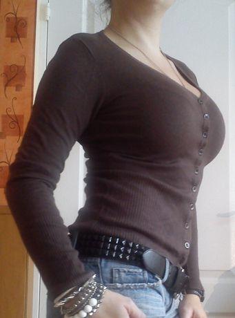 Sweterek Vila rozmiar XS w kolorze brązowym