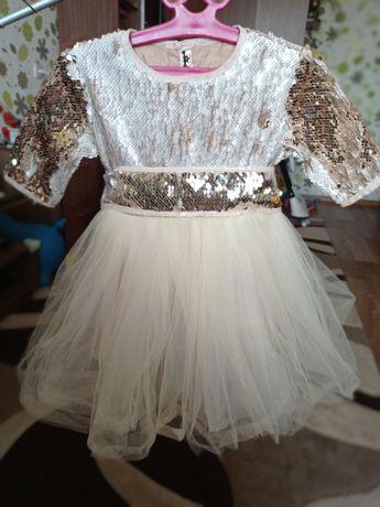 Нарядное платье на годик