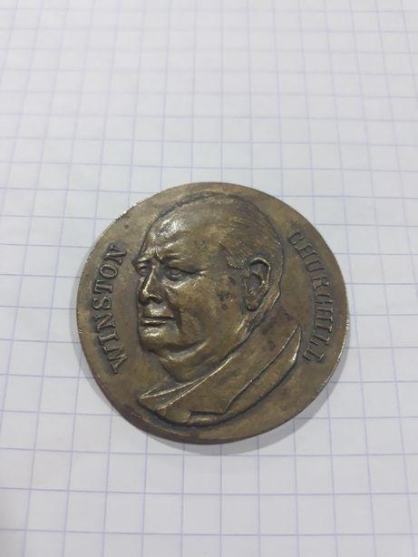 Medal z brązu Winston Churchill CDB