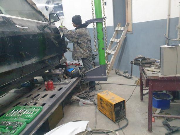 Кузовной ремонт микроавтобусов, sprinter, master, crafter, transit