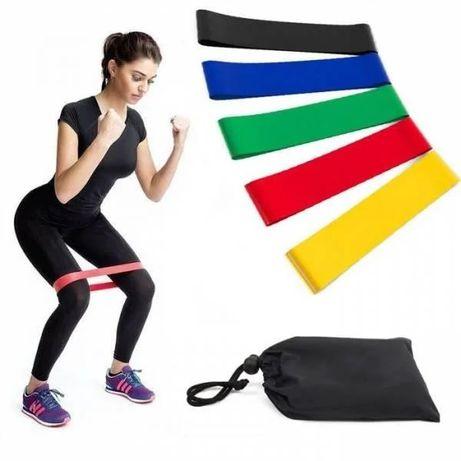 Фитнес резинки лента сопротивления для занятий фитнесом спортом !!!