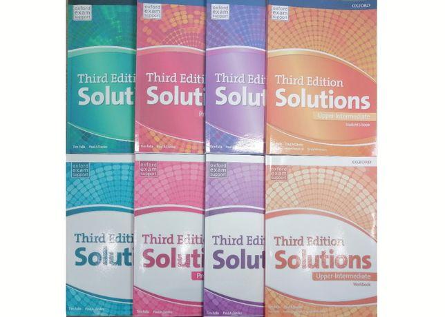 Solutions: Elementary, Pre, Upper, Intermediate, Advanced (3 издание)