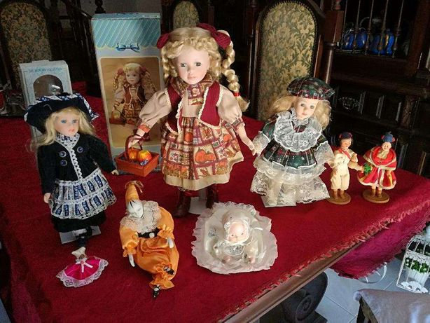 Bonecas Antigas em porcelana