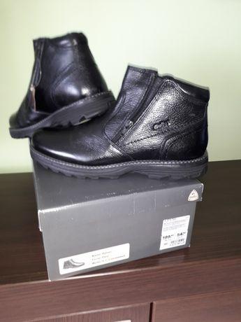 Nowe buty zimowe męskie 42 skóra