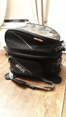 GIVI EA103B magnetyczna torba na bak 15L+25L