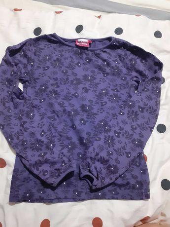 Bluzka damska fioletowa