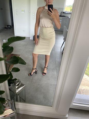 Sukienka Asos odkryte plecy