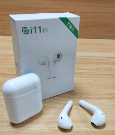 Fones De Ouvido sem fio Bluetooth i11 TWS Suporte de Som Estéreo Auto