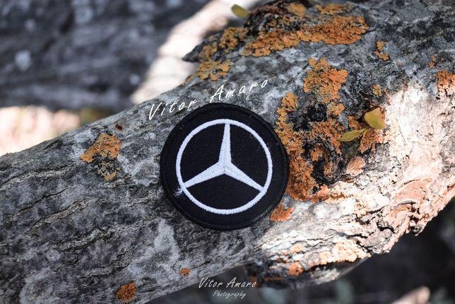 Simbolo/Logo Bordado Mercedes Benz|NOVO