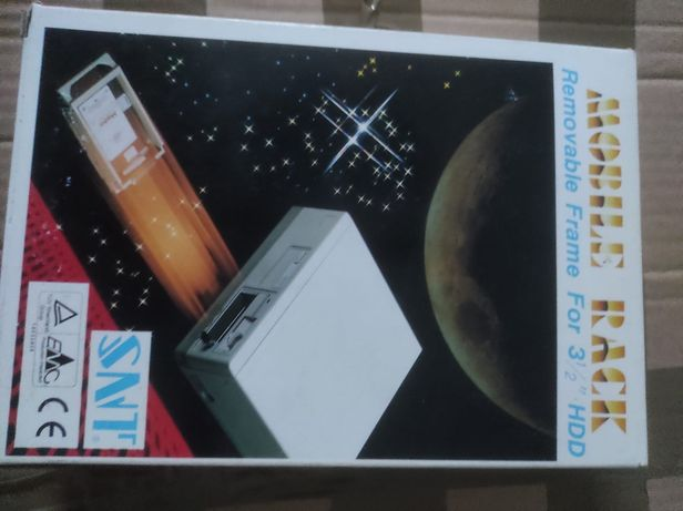 "SCSI Rack Móvel, estrutura removível para 3 1/2"" Unidade de disco ríg."