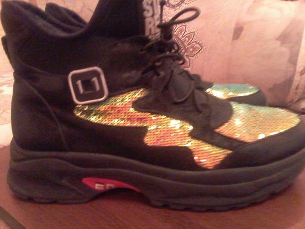 Супер-модные ботиночки 35р.