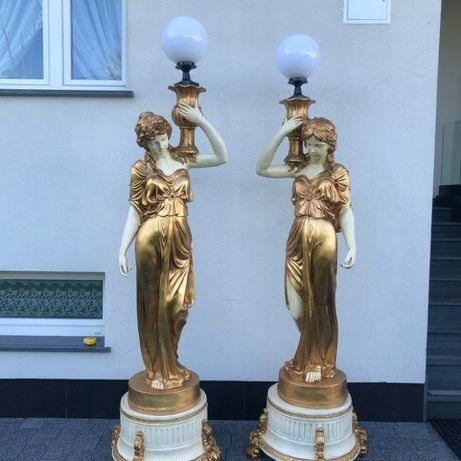 Фигурные лампы. Девушки с светильниками.