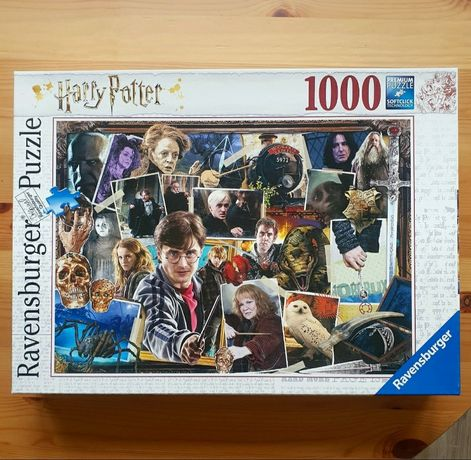 Nowe zafoliowane puzzle harry potter 1000 ravensburger