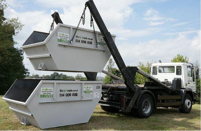 Wywóz odpadów gruzu kontener Legnica Lubin Polkowice Głogów Najtaniej