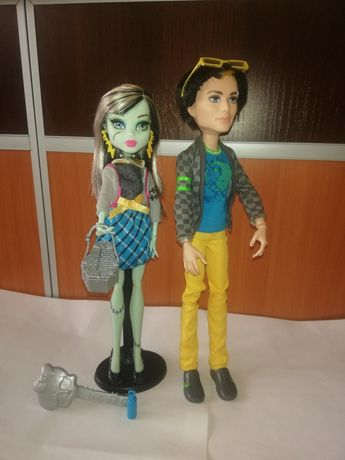 Monster High Jackson Jakyll i Frankie