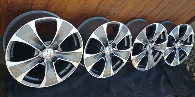 Nowe oryginalne felgi aluminiowe Citroen/Peugeot 16x4x108