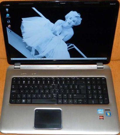 "Laptop HP Pavilion Mocny  i7 , 8Gb , 17,3"" Full HD , Radeon , SSD"