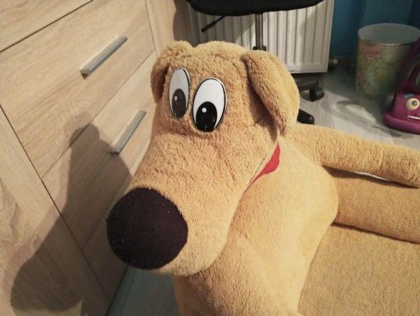 Fotel pluszowy pies