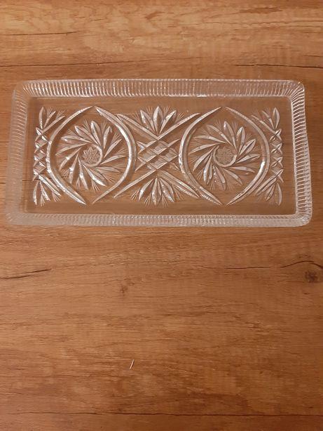 Taca krysztalowa duza