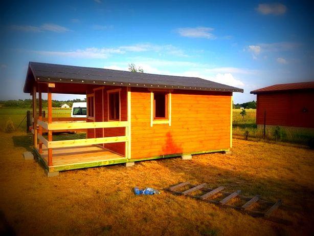 Domek drewniany Altana domki 4000x6000+Taras 4000x2000mm Altany
