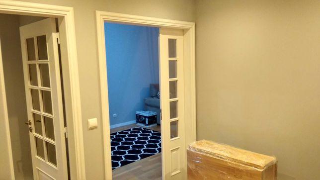 Pintura de portas de madeira