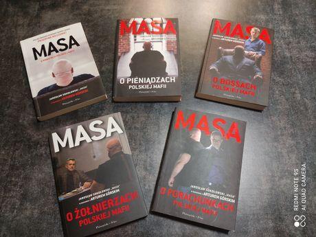 Książki z serii Masa o... Bossach, pieniądzach, Sokołowski i Górski
