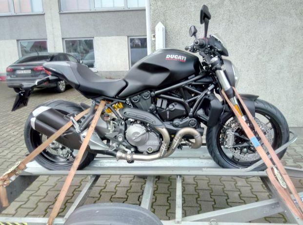 Transport motocykli Wypożyczalnia przyczepa towarowa motocyklowa quad