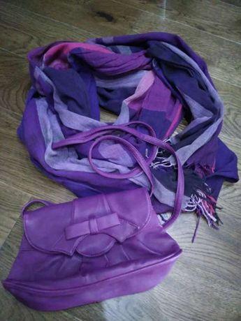 Шалик, шаль, шарф + сумочка
