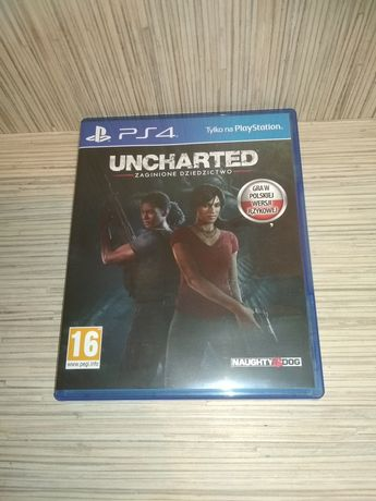 [Tomsi.pl] Uncharted Zaginione Dziedzictwo PL PS4 PS5 PlayStation 4 5