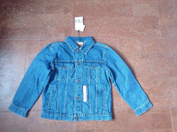Джинсовая куртка ZARA пиджак 164 джинсовый оригинал