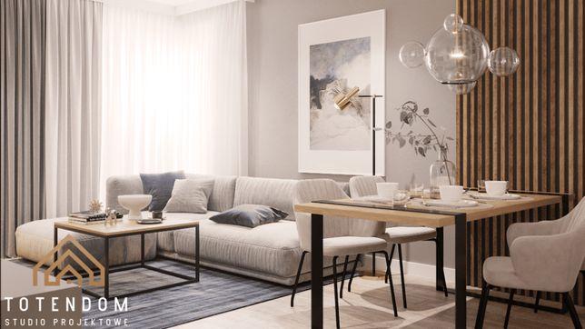 Mieszkanie 3 pokoje 62 m2 z komórką lokatorską Agromasz