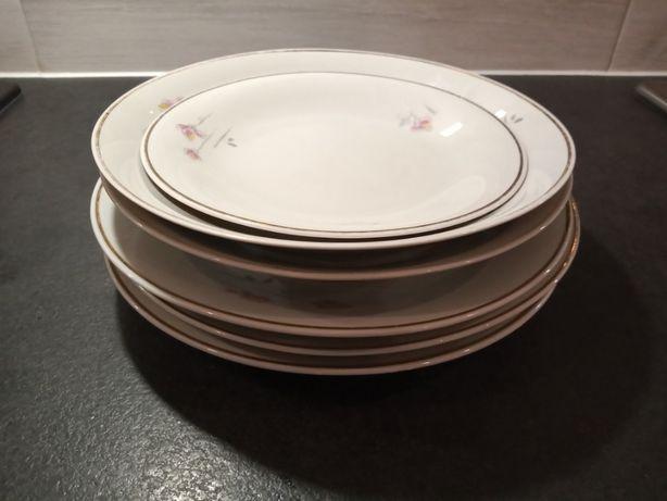 Porcelana Ćmielów - talerze sygnowane - cena za zestaw- 6 sztuk