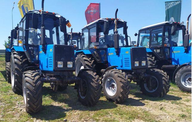 Трактор Беларус МТЗ-82.1, 892, 892.2, 1025, 1221-(2020 г.в.)(Имп)