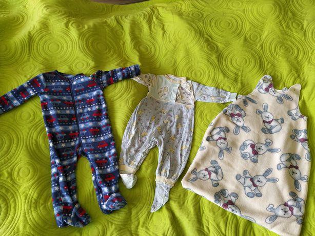 Śpiworek, pajacyk, piżama niemowlęca