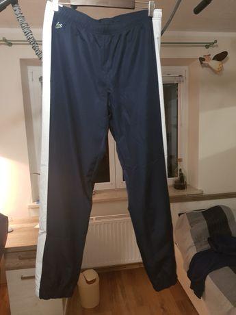 Spodnie lacoste oryginalne dresowe L