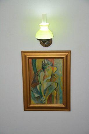 Quadro FEMME A SA TOILETTE de ANDRÉ LHOTE - 61,5 x 48,5 cm