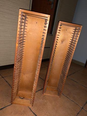 Półka drewniana na płyty