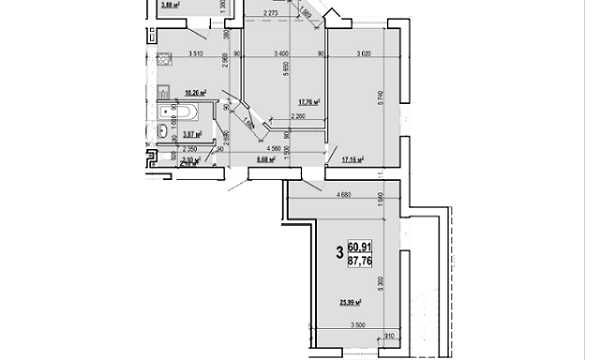 Продаю 3 комн квартиру в новострое на Холодной Горе. Есть гараж! MY