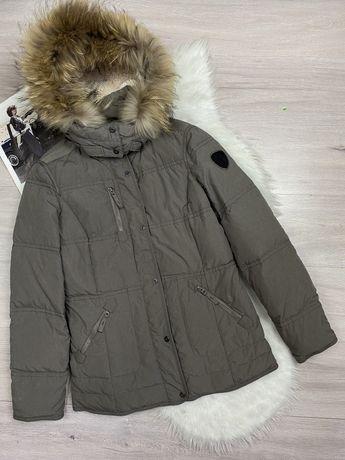 Фирменная пуховая куртка пуховик Milestone