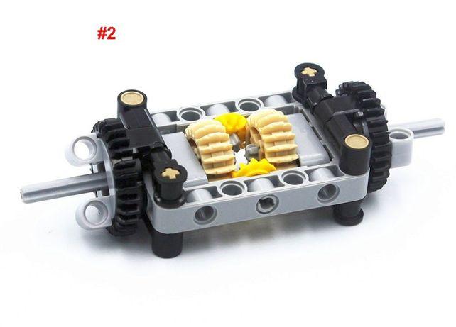 Набор #2 шестернёй дифференциального блока Lego Technic/Power Function