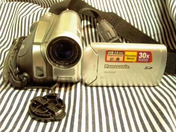 Видеокамера Panasonic NV-GS47EE. Запись на SD карту. Япония.