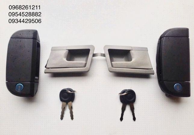 Ручка двери задняя передняя боковая VW T4 Фольксваген Т4 замок личинки