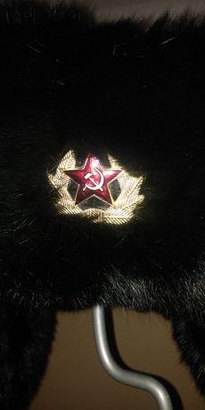 Czapka CCCP radziecka zimowa