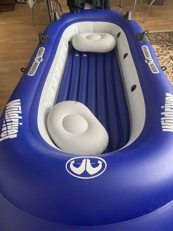 Лодка с мотором aqua marin