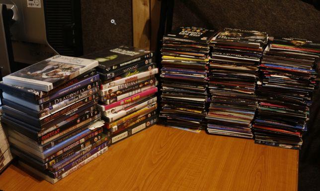 Około 450 filmów w języku angielskim, dużo rzadkich